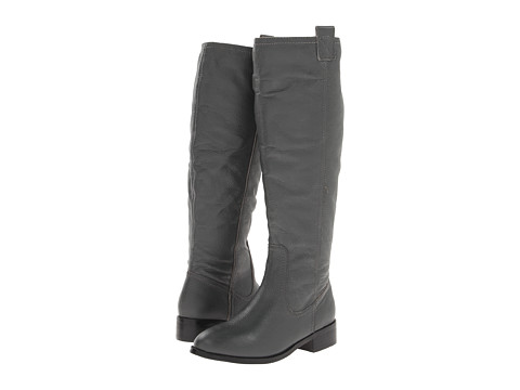 Lumiani International Collection - Lacey Wide Calf (Grey Pebble Calf) Women's Wide Shaft Boots