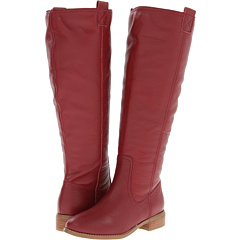 Lumiani International Collection Lacey Wide Calf (Red Pebble Calf) Footwear