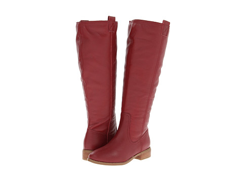 Lumiani International Collection - Lacey Wide Calf (Red Pebble Calf) Women's Wide Shaft Boots