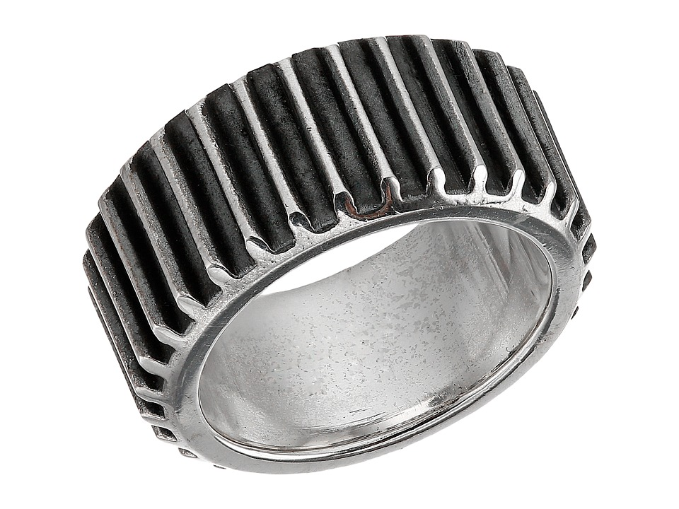 King Baby Studio - Wide Gear Ring (Sterling Silver) Ring