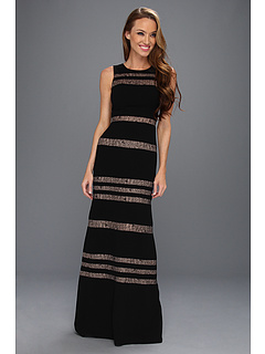 SALE! $199.99 - Save $198 on BCBGMAXAZRIA Katiana Woven Evening Gown (Black) Apparel - 49.75% OFF $398.00