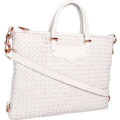 SALE! $326.99 - Save $268 on Rebecca Minkoff Bonnie Satchel (White) Bags and Luggage - 45.04% OFF $595.00