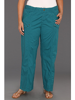 SALE! $26.99 - Save $83 on XCVI Plus Size Plus Size Yosemite Wide Leg Pant (Caspian Blue) Apparel - 75.46% OFF $110.00