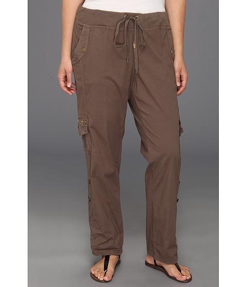 XCVI Plus Size - Plus Size Temecula Cargo Pant (Silt) Women's Casual Pants
