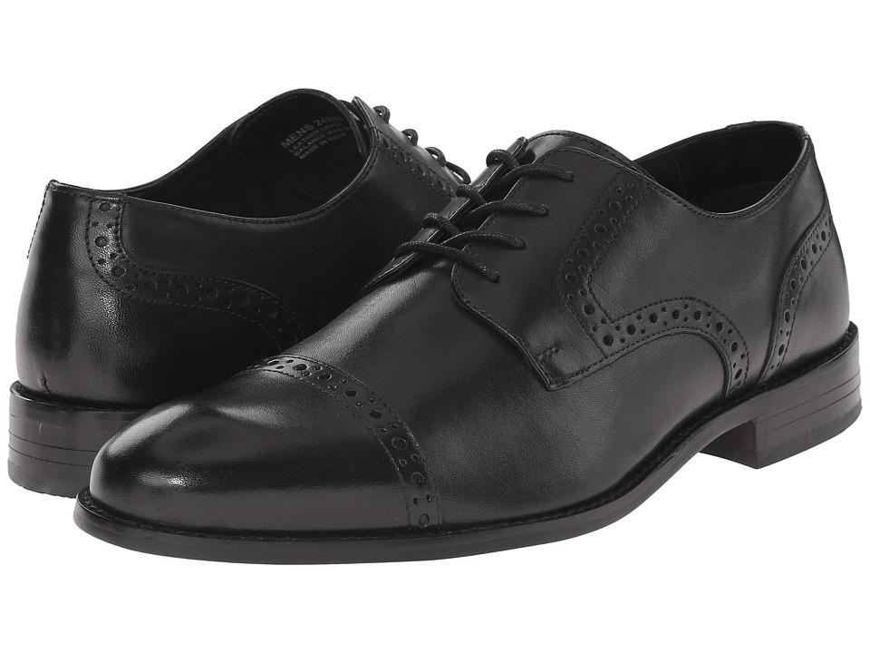 Stacy Adams - Prescott (Black Leather) Men's Shoes