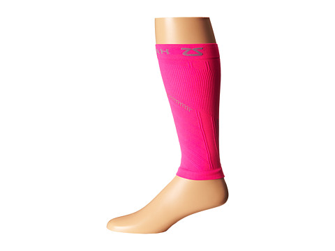 Zensah - Reflective Compression Leg Sleeves (Neon Pink) Athletic Sports Equipment