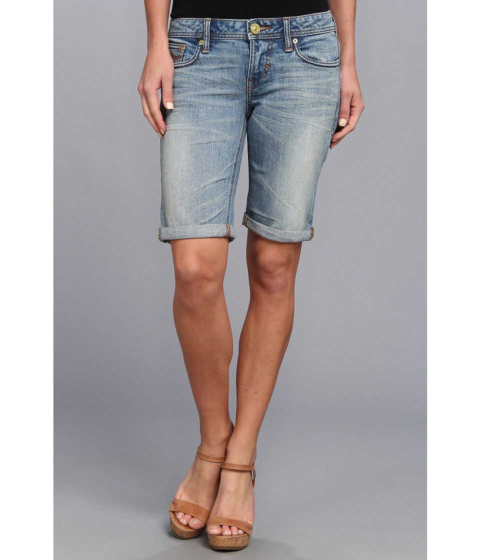 Mek Denim - Simona Bermuda Short in Blue Magic (Blue Magic) Women's Shorts