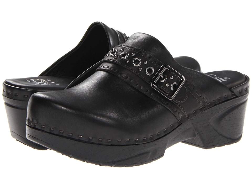 Sofft - Carrieann (Black Lucca) Women's Clog Shoes