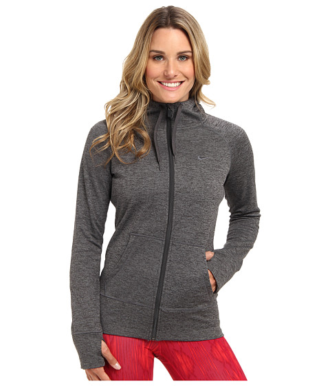 Nike - All Time Full Zip Hoodie (Anthracite/Cool Grey/Anthracite) Women's Sweatshirt