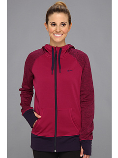 SALE! $39.99 - Save $20 on Nike All Time Full Zip Hoodie (Raspberry Red Purple Dynasty Purple Dynasty) Apparel - 33.35% OFF $60.00