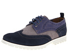 Hush Puppies - 1958 - Brogue Lug (Navy Suede) - Footwear