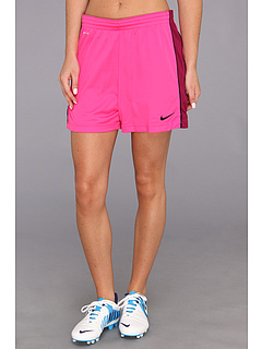 SALE! $16.99 - Save $8 on Nike Academy Knit Short (Pink Foil Raspberry Red Black Black) Apparel - 32.04% OFF $25.00