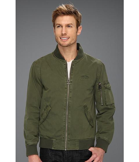 Authentic Apparel - U.S. Army Eisenhower Flight Jacket (Olive) Men's Coat