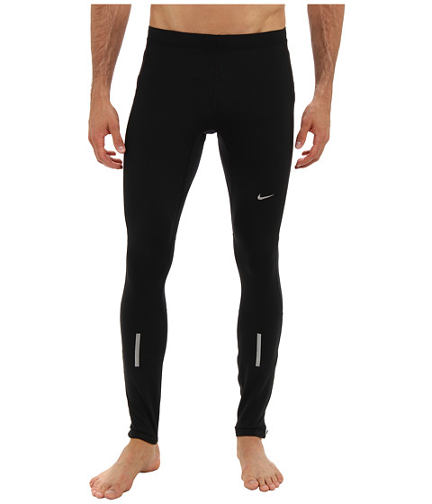 Nike - Element Thermal Tight (Black/Black/Matte Silver) Men
