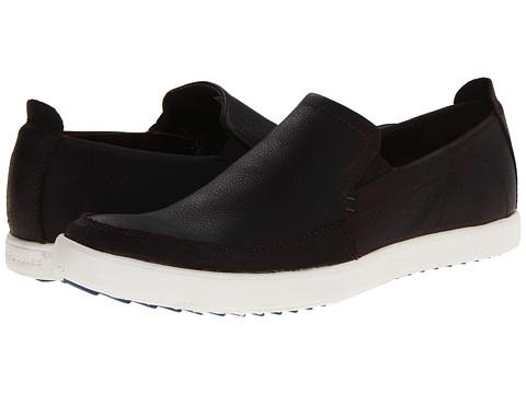 Hush Puppies - Roadside Slip On MT (Dark Brown Leather) Men's Slip on Shoes