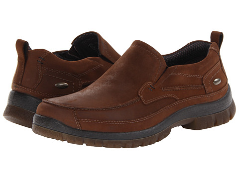Hush Puppies - Outclass Slip On MT (Brown WP Leather) Men