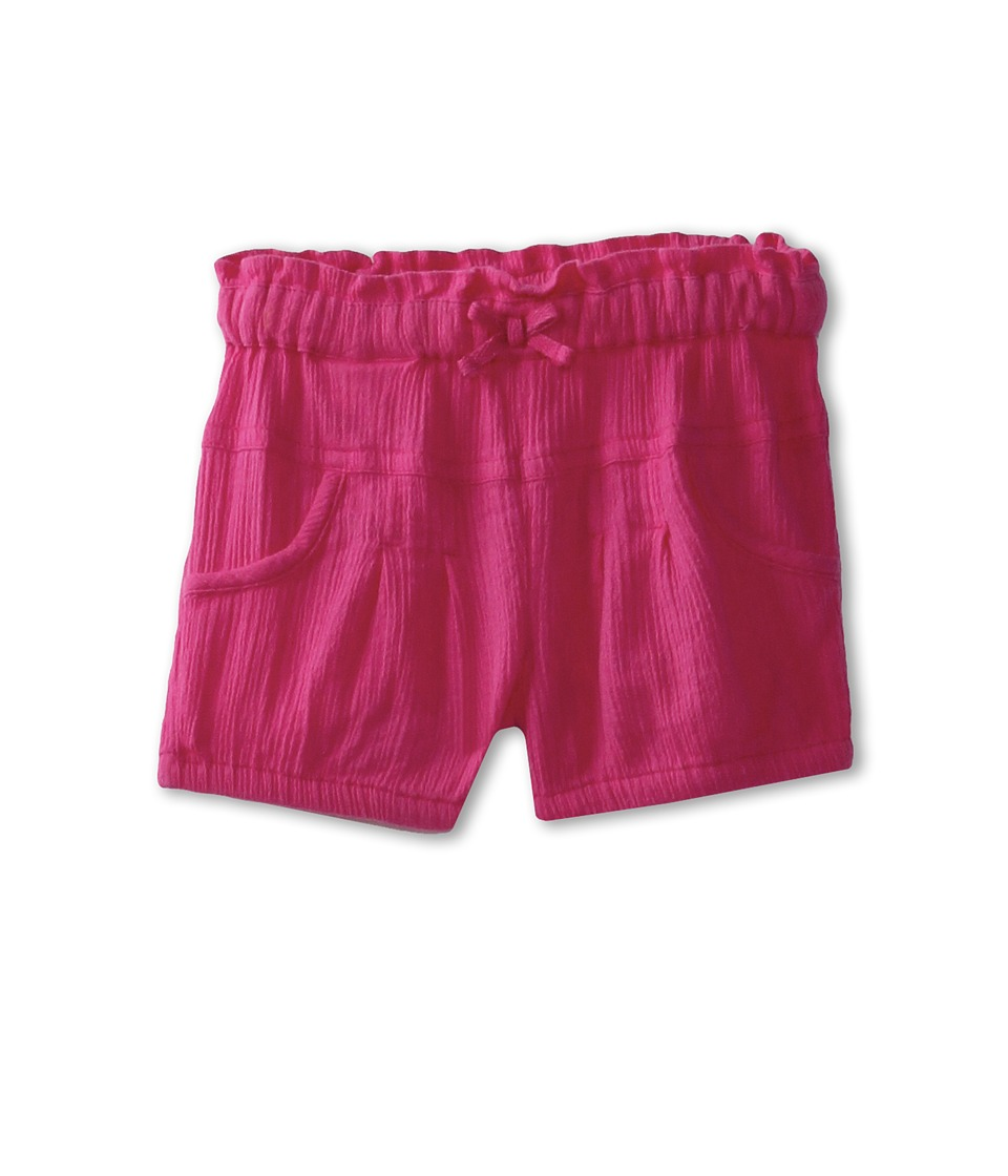 United Colors of Benetton Kids Girls Soft Cotton Short Girls Shorts (Pink)