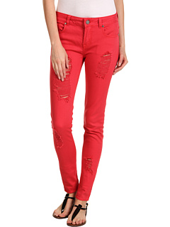 SALE! $32.4 - Save $76 on Buffalo David Bitton Gibson Mid Rise Skinny in Flame (Flame) Apparel - 70.00% OFF $108.00