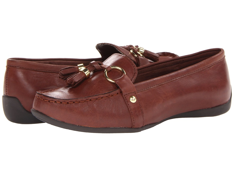 Bella-Vita - Mallory (Cognac Leather) Women's Slip on Shoes
