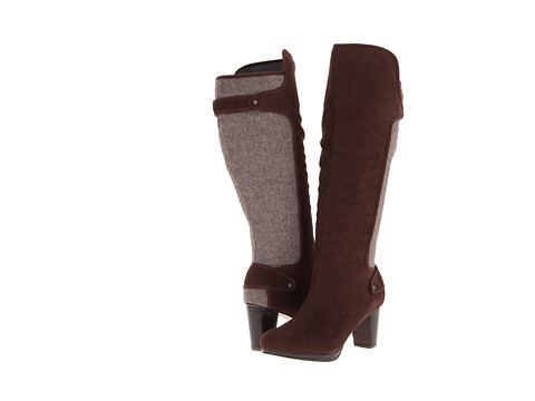 Bella-Vita - Walker (Brown Super Suede/Herringbone) Women