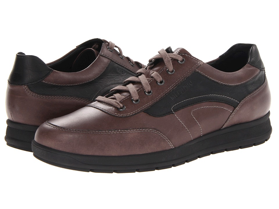 Mephisto - Grant (Dark Taupe/Black Steve) Men's Shoes