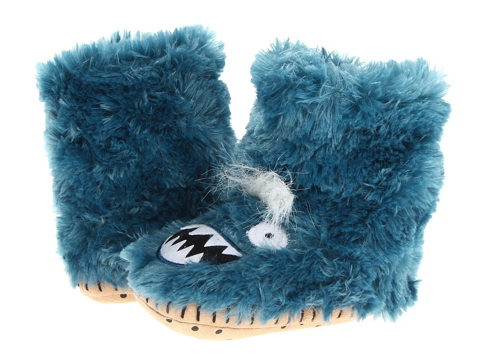 Hatley Kids - Fuzzy Fleece Slippers (Toddler/Little Kid) (Ice Monsters) Boys Shoes