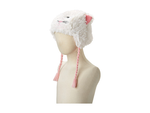 Hatley Kids - Fuzzy Animal Hats (Cat Fuzzy Fleece) Traditional Hats