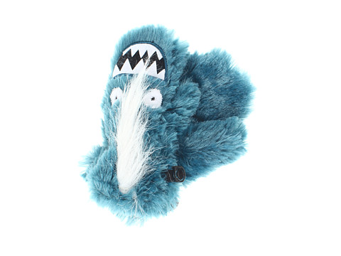 Hatley Kids - Fuzzy Animal Mitts (Toddler/Little Kid) (Ice Monster Fuzzy Fleece) Extreme Cold Weather Gloves