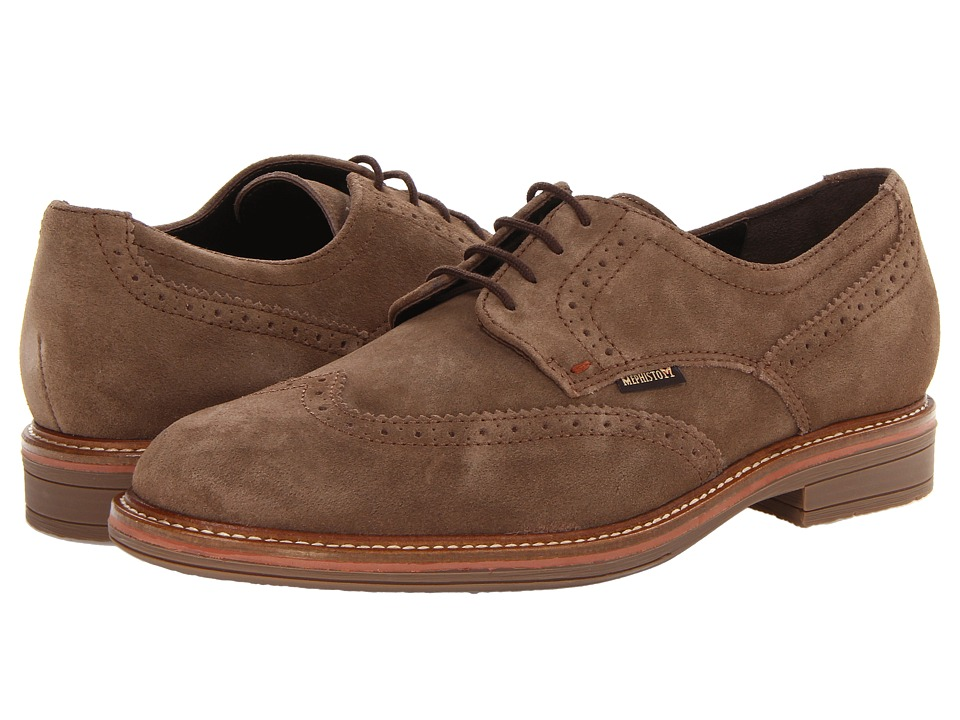 Mephisto - Waldo (Dark Brown Clint) Men's Shoes