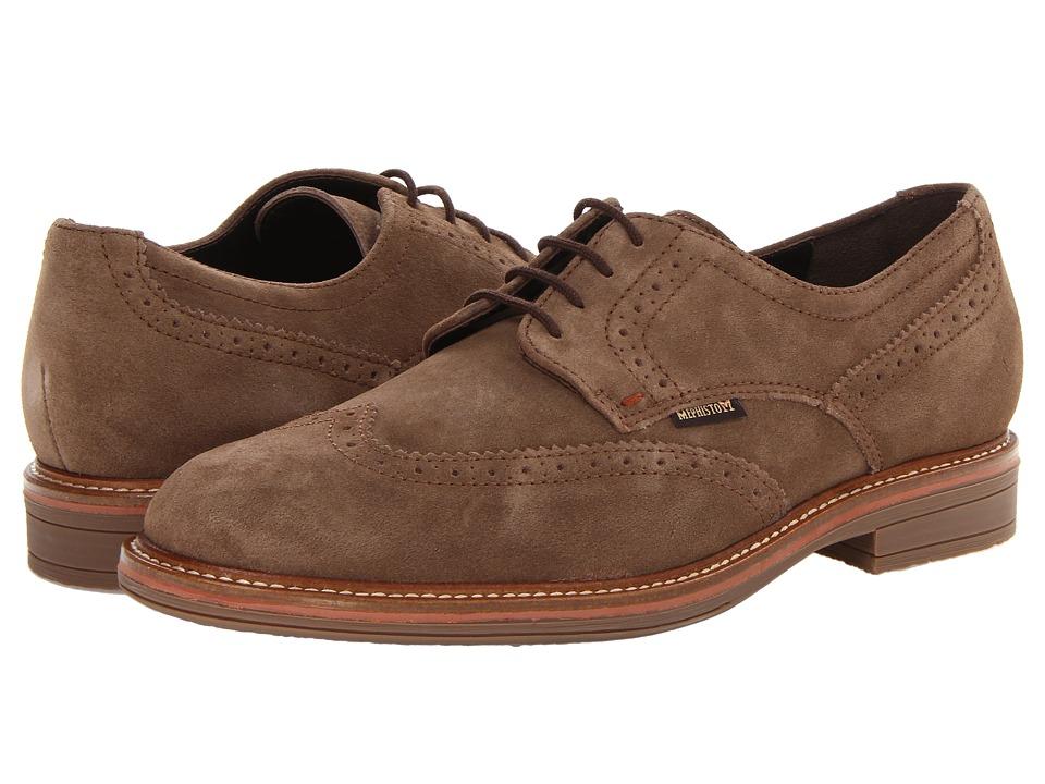 Mephisto - Waldo (Dark Brown Clint) Men's Shoes