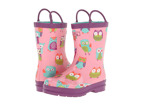 Hatley Kids - Rain Boots (Toddler/Little Kid) (Party Owls) Girls Shoes