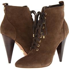 Betsey Johnson Abbeyy (Brown Distressed) Footwear