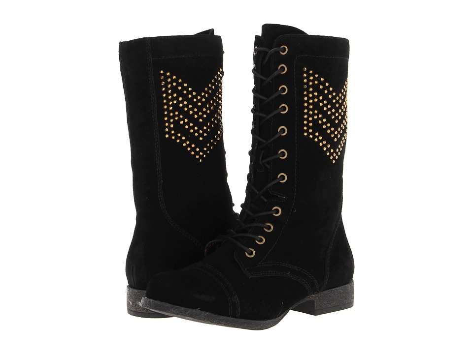 Betsey Johnson - Tempest (Black) Women's Lace-up Boots