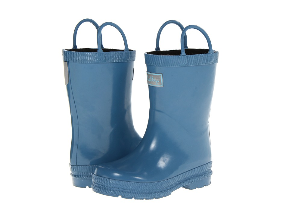 Hatley Kids - Rain Boots (Toddler/Little Kid) (Blue) Kids Shoes