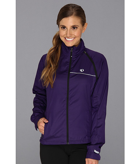 Pearl Izumi - W ELITE Barrier Convertible Cycling Jacket (Blackberry) Women's Coat