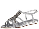 Bandolino Adelaide (Silver Fabric) Women's Sandals
