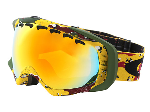 Oakley - Crowbar Snow Goggles (Tanner Hall Signature w/Fire) Snow Goggles