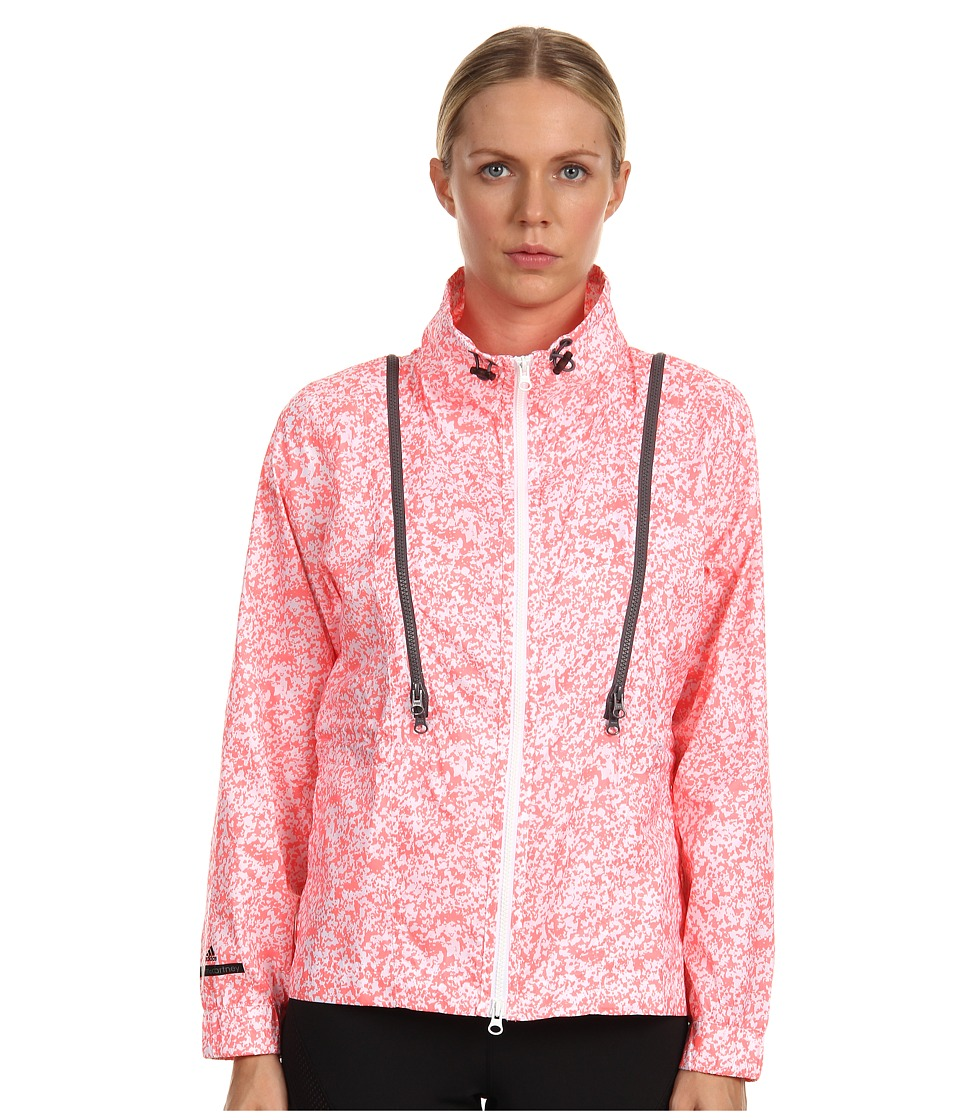 adidas by Stella McCartney - Run Performance Jacket (White/Turbo) Women's Jacket