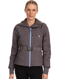 SALE! $209.99 - Save $138 on adidas by Stella McCartney Slim Padded Jacket (Sharp Grey) Apparel - 39.66% OFF $348.00