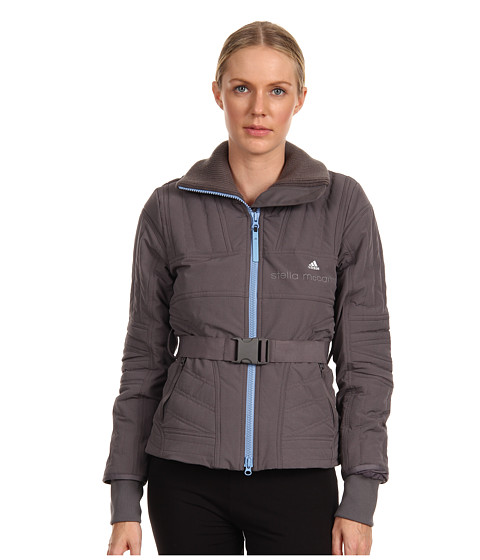 adidas by Stella McCartney - Slim Padded Jacket (Sharp Grey) Women's Jacket