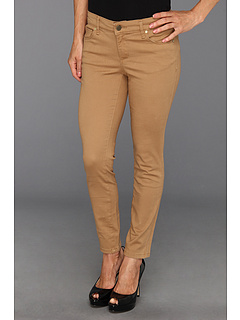 SALE! $44.5 - Save $44 on Anne Klein Petite Petite Super Stretch Twill Leo Skinny (Vicuna) Apparel - 50.00% OFF $89.00