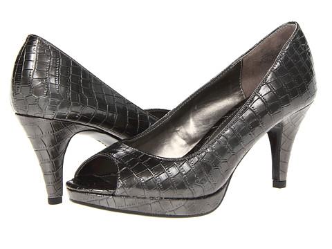 Bandolino - Mylah 5 (Pewter Croc) High Heels