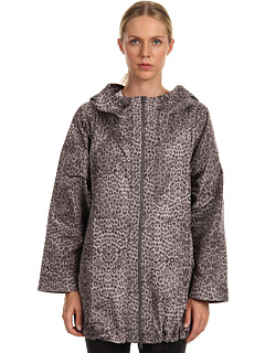 SALE! $229.06 - Save $166 on adidas by Stella McCartney Studio Parka (Black White Solid Grey) Apparel - 42.01% OFF $395.00