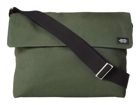 Jack Spade - New Field Messenger (Green) Messenger Bags