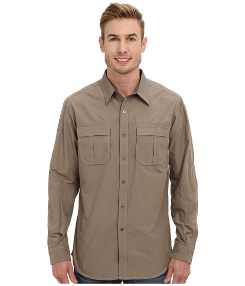 Kuhl - Infinite Shirt (Dark Khaki) Men's Clothing