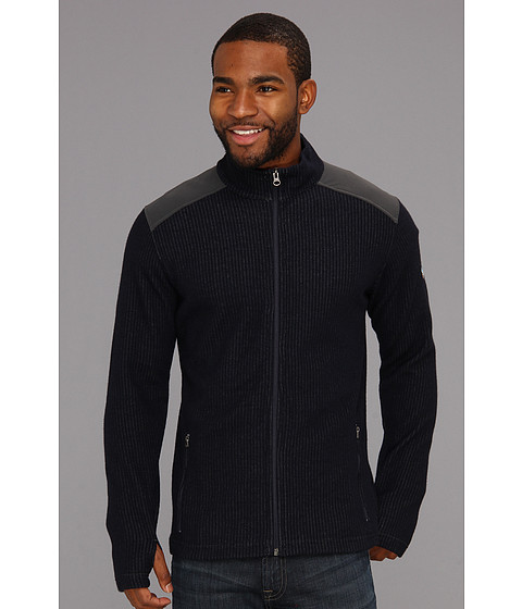 Kuhl - Rival Full Zip (Midnight Blue) Men's Sweater