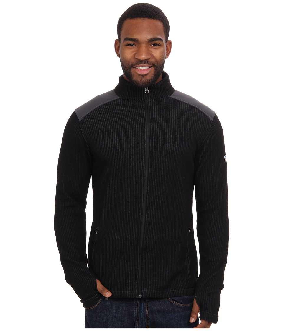 Kuhl - Rival Full Zip (Jet Black) Men's Sweater