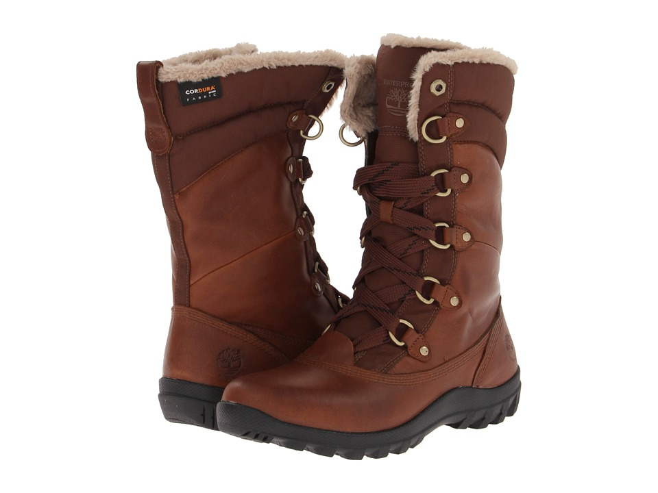 Timberland - Mount Hope Mid (Tobacco Forty Leather) Women's Lace-up Boots