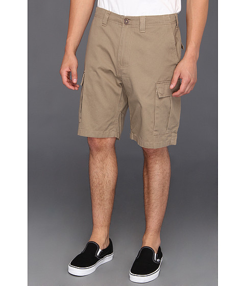 Volcom - Slargo Cargo Short (Khaki) Men's Shorts
