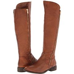 Steve Madden Shawny (Cognac Leather) Footwear